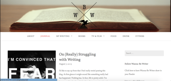 The Evolution of Wanna-BeWriter
