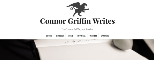 Connor Griffin Writes: A New Chapter